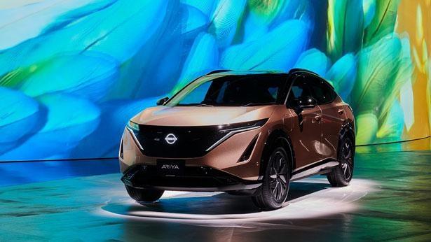 【写真】排ガスを一切出さない100%電気自動車「日産アリア」の同乗体験が可能