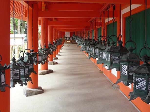 【写真】特別参拝で入ることができる東回廊