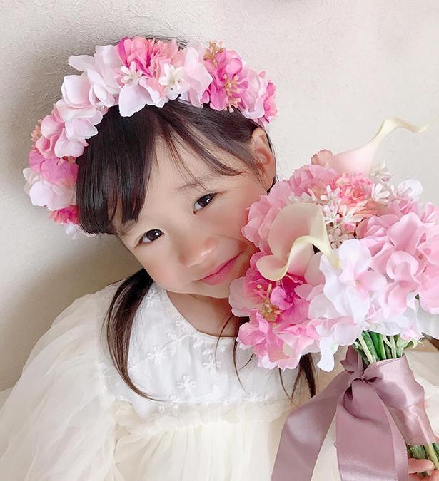【写真】すっかりお姉さんになった、ひなのちゃん!母親のhikariさんもお気に入りの1枚
