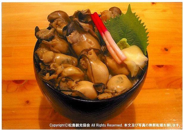 松島産のカキは他の生産地に比べ小ぶりだが、旨味がぎゅっと濃縮されている※画像はイメージ