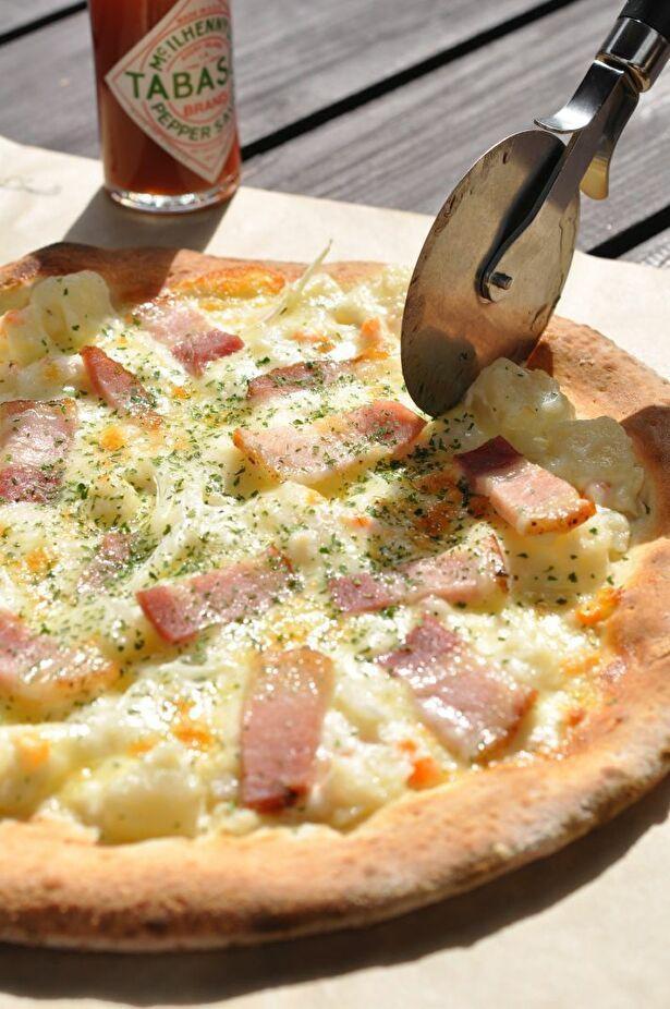 みんなでシェアしたい石窯ピザ