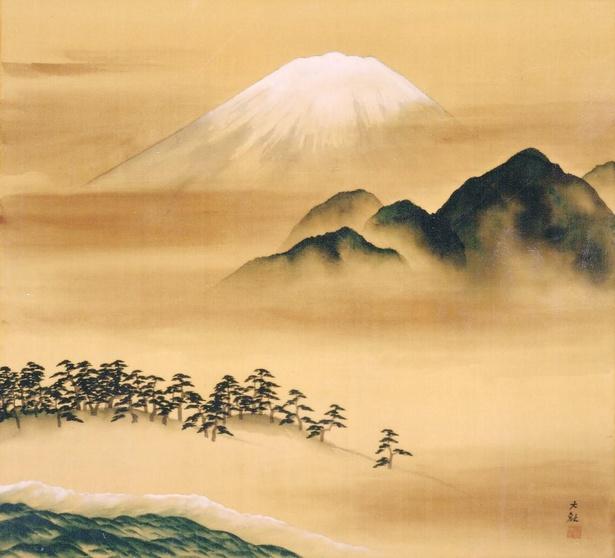 横山大観《霊峰不二》 1939年 島川美術館蔵