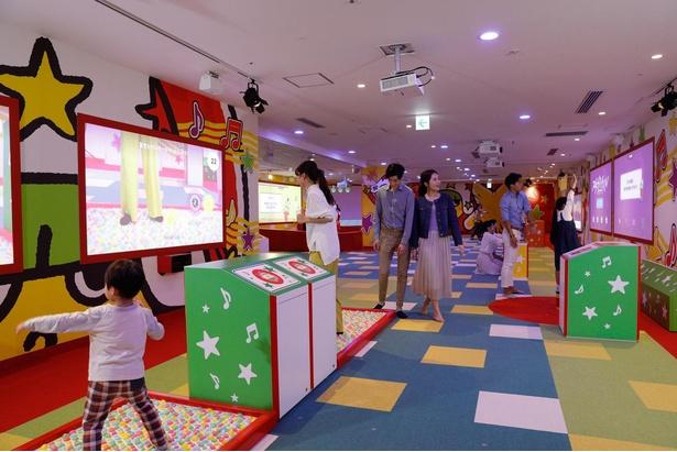 「おやつパーク」には大人も子供も夢中になれるアトラクションがいっぱい