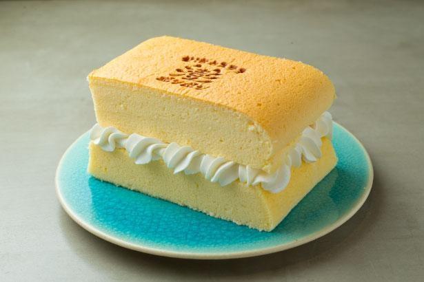 ケーキのような生クリームポンポン(800円)/台湾カステラ専門店 澎澎 なんばCITY店