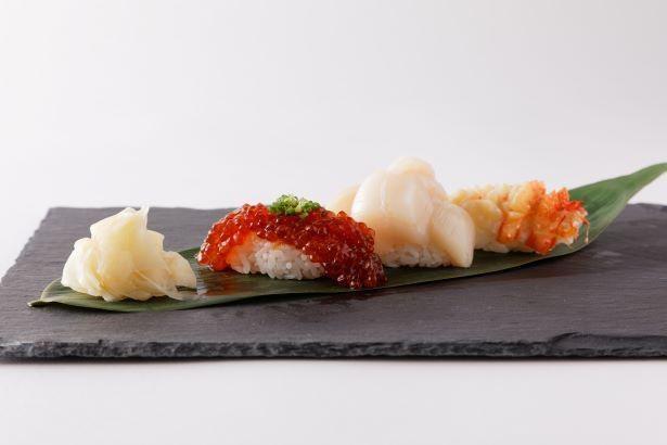 オホーツクの海の恵みが堪能できる「立食い寿司 根室花まる」