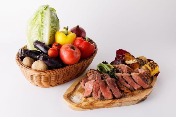 珍しい石垣牛が食べられる「有機野菜と石垣牛のお店 FROM FARM」