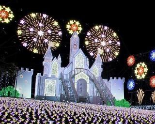 日本三大イルミネーションは必見!足利市のあしかがフラワーパークで「光の花の庭」が開催