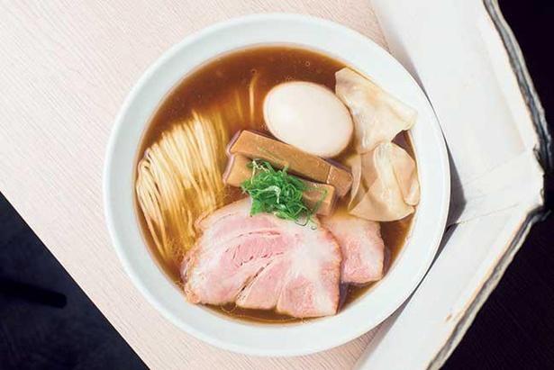 【写真】鶏・豚と魚介が融合した、旨味がガッツリくる淡麗麺