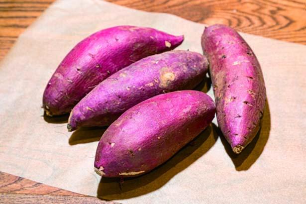 契約農家から仕入れたサツマイモを使用/蜜香屋 BATATAS
