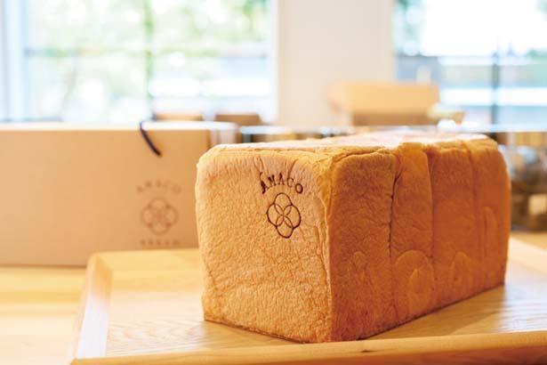 AMACO BREAD甘麹熟成食パン(約2斤1000円)/AMACO CAFE