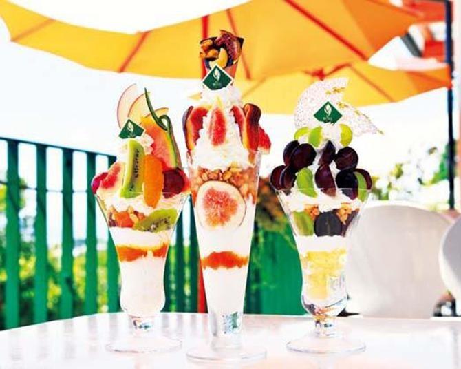 【関西ドライブ】和歌山のフレッシュ果物のパフェに大感動!