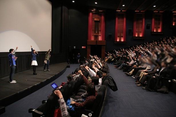 渕上舞が大洗名物の直送をリクエスト! 新宿バルト9・10周年記念「ガールズ&パンツァー」一挙上映会舞台挨拶
