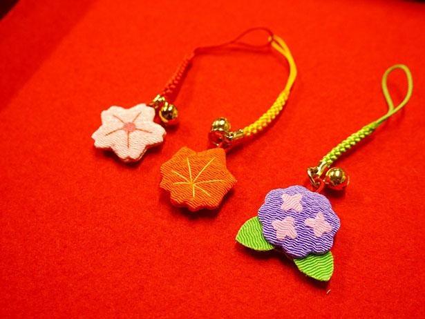 「季節守り」は桜、あじさい、もみじの3種類