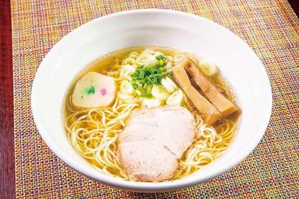 【写真】「魚だし朝ラーメン」は中華そばよりも魚介の風味を強くした一杯