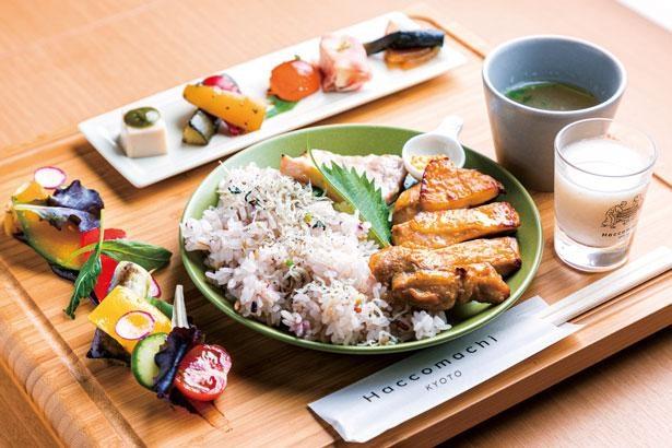 発酵ランチプレート(税込1690円)/漬×麹 Haccomachi