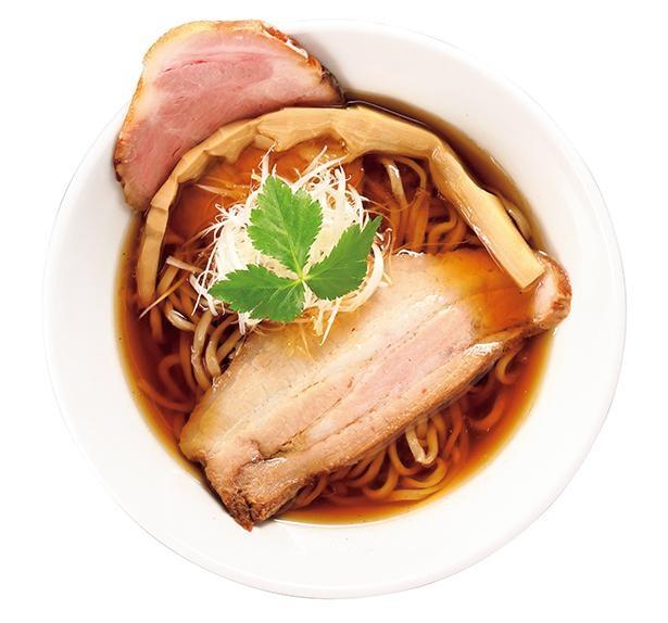 「魚介しょうゆそば 並」(税込810円) /「麺処 うきとみ」(愛知県東海市)