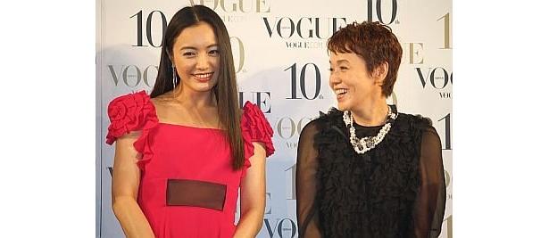仲間由紀恵さんと大竹しのぶさん