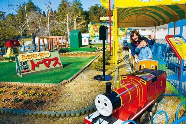 【レッツゴートーマスとなかまたち】トーマスやパーシー、ジェームズに乗って出発しよう/東条湖おもちゃ王国
