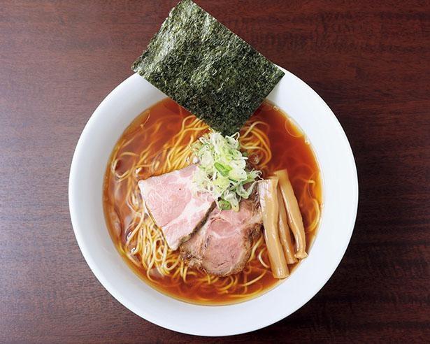 「らーめんしょうゆ」(750円) / 麺屋 志縁(しえん)(愛知県東海市)