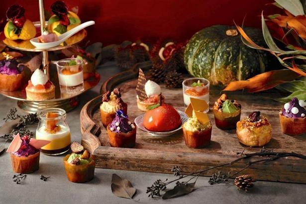 実りの秋を堪能できる全22種類のスイーツ&セイヴォリー
