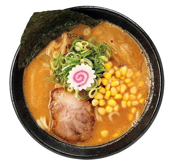 一度食べたらコレばかりというファンもいるという「味噌らーめん」(税込930円) /「大勝軒SHIBAKI」