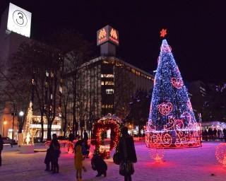 札幌市で「第40回さっぽろホワイトイルミネーション」開催!日本三大イルミネーションが初雪を彩る