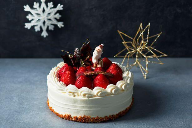 「嘉山農園の苺ショートケーキ」