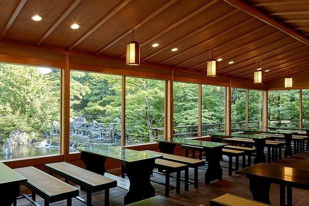 こちらの茶屋は、9時30分から15時30分まで利用できる
