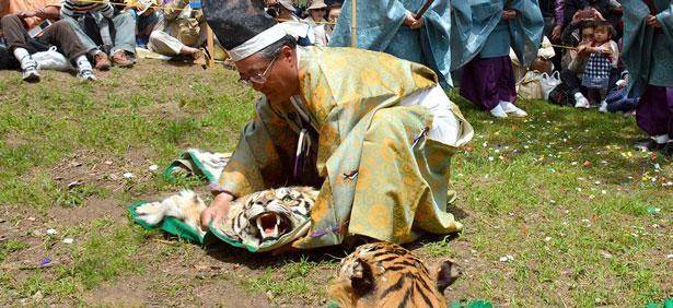 神奈川県の無形民俗文化財に指定されている