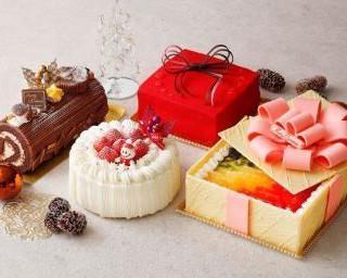 """真っ赤なルージュやピンクのリボンのケーキも!ホテルから思いの詰まった""""クリスマスギフト""""が登場"""