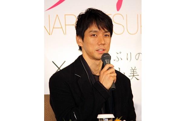 中山美穂の相手役の西島秀俊は、監督の粘りに感動したとか