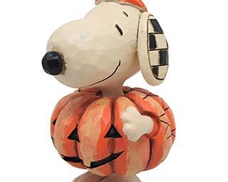 【グッズ】スヌーピーの手彫り風オブジェで、インテリアにハロウィンムードをプラスしよう!