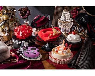 """「ケーキに見えない…!?」ヒルトン東京が11月13日より「クリスマスケーキ」の予約受付開始、""""アーティスティック""""なケーキをご覧あれ"""