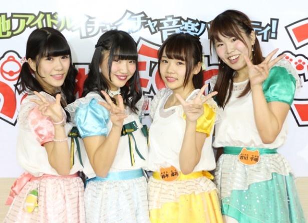 インタビューリレー企画の第3弾は、愛知県稲沢市の5人組ご当地アイドルグループ・LOVEINA30!