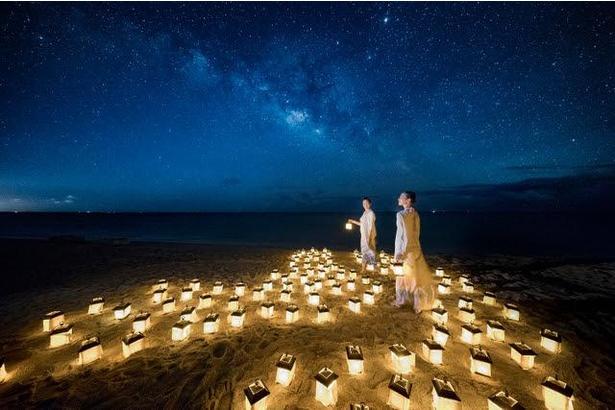 リゾナーレ小浜島では、今にも降ってきそうな星々を眺めながら、ハロウィンを楽しめる