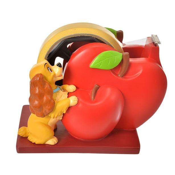 「レディ テープディスペンサー」は2つ並んだりんごがかわいい!