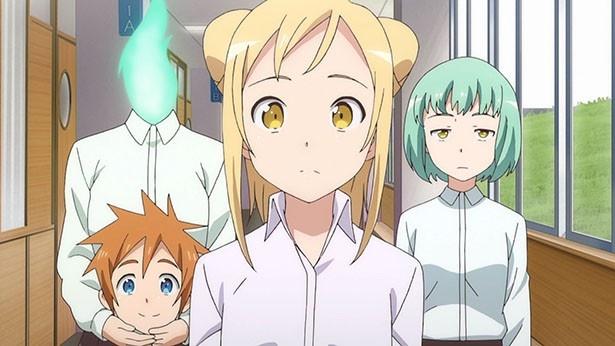 「亜人ちゃんは語りたい」第7話の先行カットが到着。謎の金髪美男子、登場