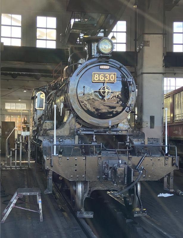 無限列車そっくり!京都鉄道博物館に展示されている8620形8630号機