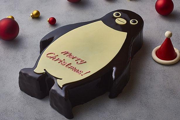 「Suicaのペンギン クリスマスケーキ」が今年もホテルメトロポリタンにお目見え!
