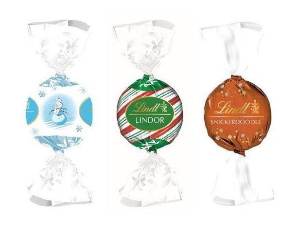 クリスマス期間限定の「リンドール」もお見逃しなく