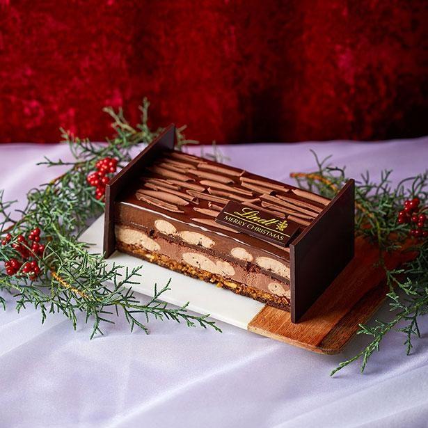 リンツのこだわりが詰まったクリスマスケーキ「リンツ ジョワイユ ショコラ」