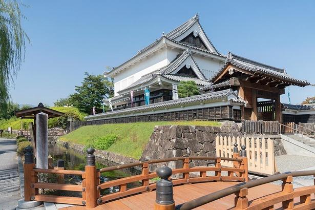 1992年に「勝龍寺城跡」に造られた都市公園で「日本の歴史公園100選」にも選ばれている/勝竜寺城公園