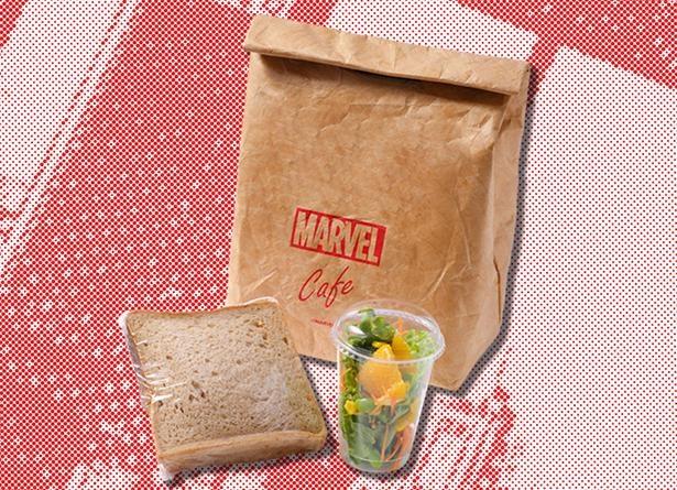 ピーター・パーカーお気に入りのサンドウィッチの味は会場で確かめて
