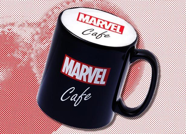 単品かオリジナルマグカップ付きが選べる「『MARVEL』カフェラテ」