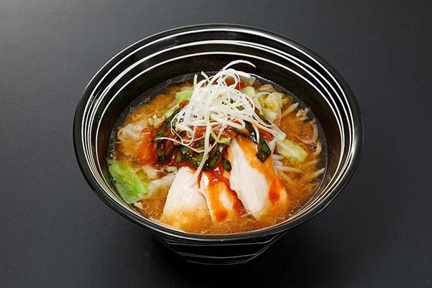 「札幌らーめん ほくと亭」の「ヤンニョム風 味噌らーめん」(税込880円)は北海道産の味噌スープとヤンニョムのコクと辛味が融合