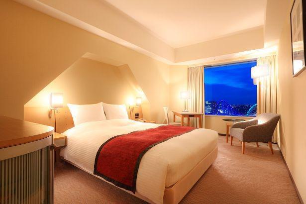 お部屋は東京ドーム側指定なので夜景もばっちり。Go To トラベルキャンペーンも対象!