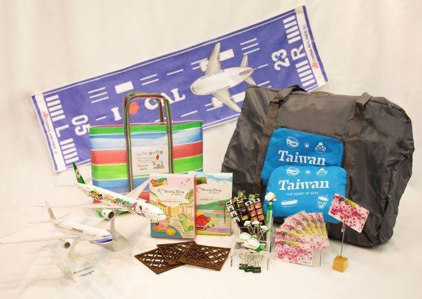台湾のお土産が当たるサイコロゲームも実施