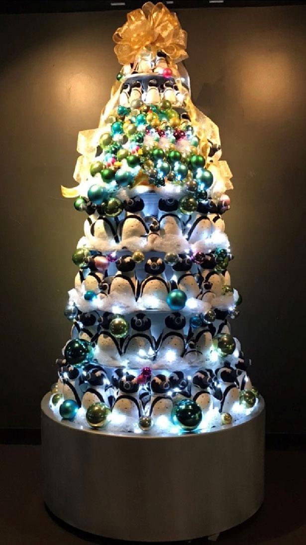 かわいさ満点のぬいぐるみツリーでクリスマス気分もアップ!