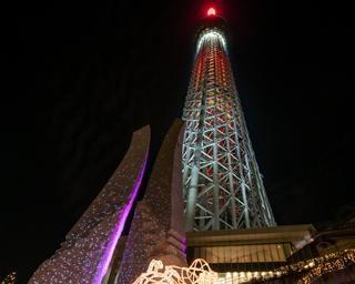 東京の夜を素敵に彩る!「東京スカイツリータウン(R)ドリームクリスマス2020」が開催中