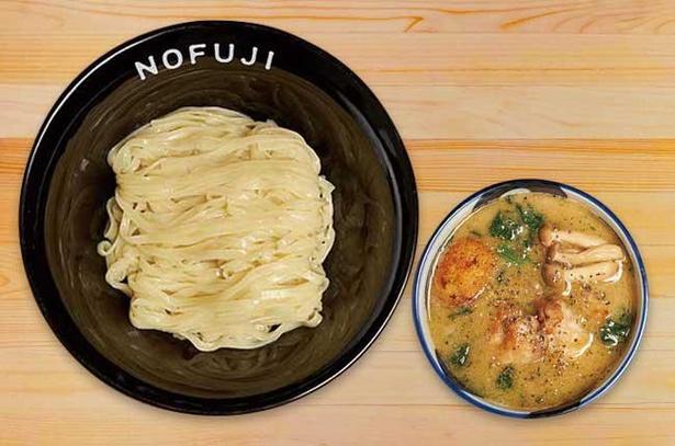 【写真】つけ麺と洋食の見事なコラボレーション